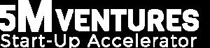 5m ventures logo white